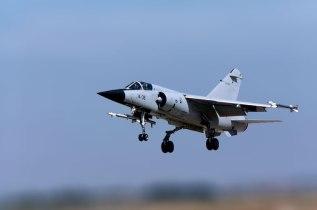 Dassault Mirage F-1C del Ala 14 despegando