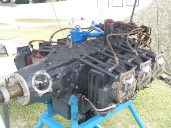 Motor de aviación Lycoming GO-480-B1A6, de seis cilindros opuestos y utilizado en aviones como el CASA Dornier Do-27. Era capaz de desarrollar 340 Hp a nivel del mar.