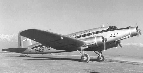 Fiat G.212 de ALI (Fuente: Airwar.ru)