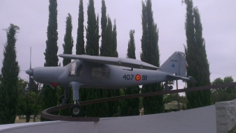 Avión de enlace ligero STOL CASA/Dornier C-127 (U.9). Fabricado en España por CASA en número de 50 unidades, este modelo fue el primero diseñado en Alemania tras la Segunda Guerra Mundial.