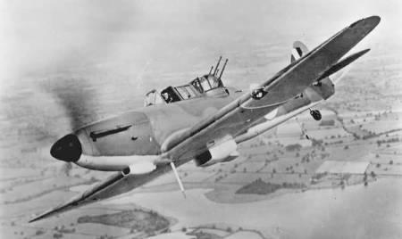 Defiant Mk I en vuelo