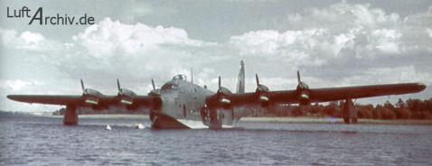 Uno de los cinco BV 222 A-0 Wiking. Esta serie llevaba instalados los seis motores Jumo 207C sobrealimentados. (Fuente: www.luftarchiv.de)