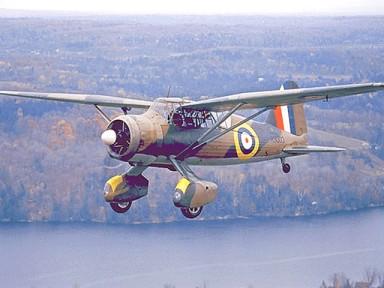 Westland Lysander en vuelo (fuente: www.rcaf-arc.forces.gc.ca)