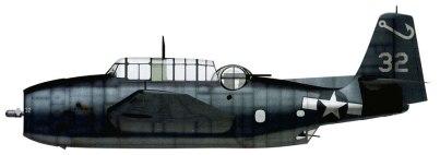 Grumman TBF-1 Avenger US Navy